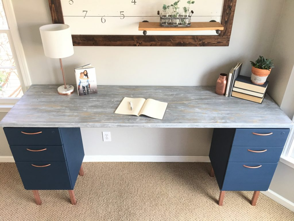 Ugly Home Office Makeover Part 5 The Diy File Cabinet Desk And How Chip Gaines Hair Inspired Me Beautiful Life Market
